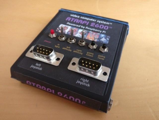 Emulador de Atari gracias a la Raspberry Pi