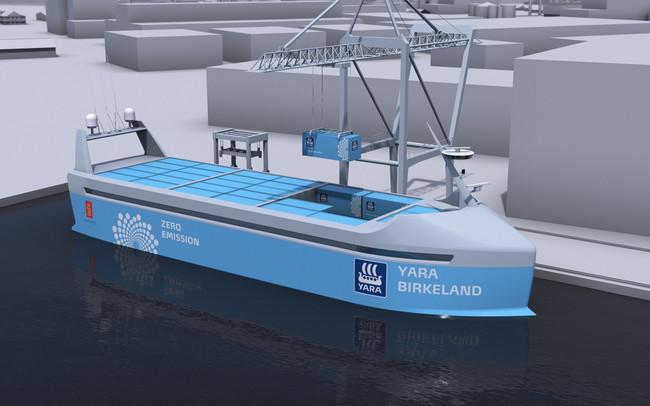 """Permalink to Noruega ya está fabricando el """"Tesla de los mares"""": su primer barco autónomo impulsado por energías renovables"""