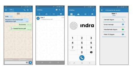 Interfaz Indra