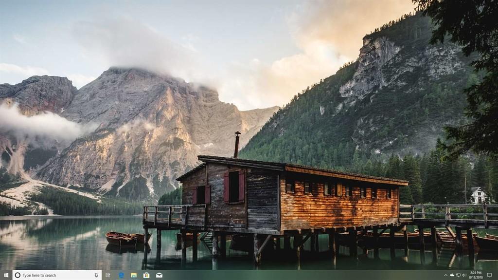 Cómo colorear, crear transparente o translúcida la barra de actividades de Windows diez