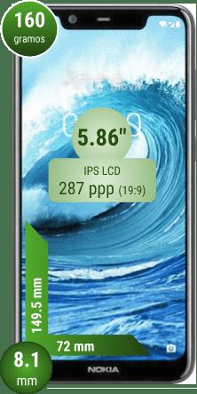 Nokia cinco 1 Plus