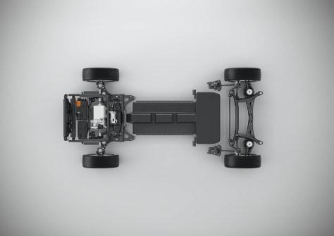 Plataforma CMA Volvo eléctrico