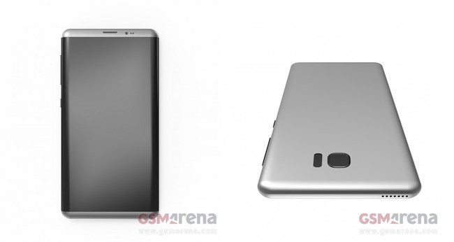 Galaxy S8 Render Duo