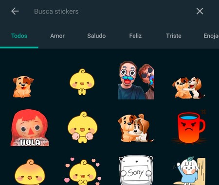 Buscador Stickers Whatsapp