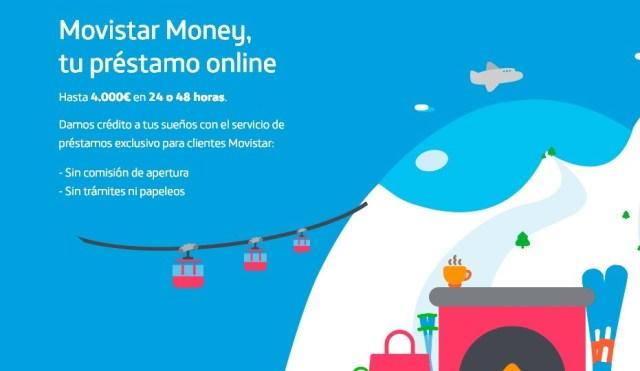 Movistar Money, préstamos de hasta 3.000 euros para los usuarios de la operadora