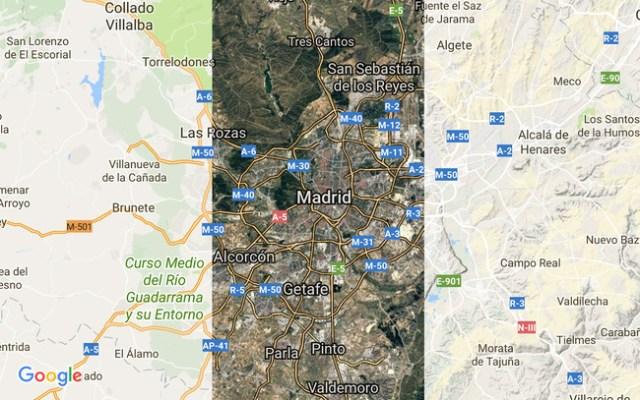 Capas ©Google Maps
