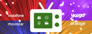 Comparativa Movistar+, Vodafone TV y Orange TV: canales, precios definitivos y características disponibles