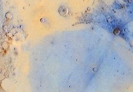 Inverted Colours Of The Boundary Between Mare Serenitatis And Mare Tranquilitatis C Jordi Delpeix Borrell