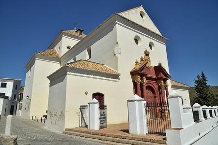 1080px Iglesia De San Jacinto En Macharaviaya Provincia De Malaga