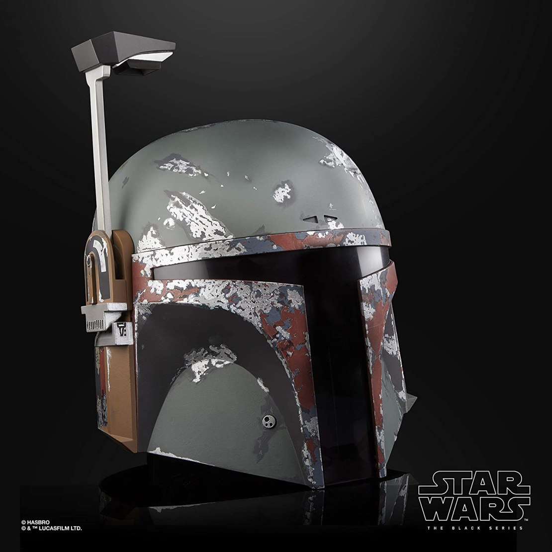 STAR WARS The Black Series Boba Fett Premium Electronic Helmet, The Empire Strikes Back