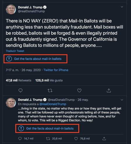 Donald Trump Twitter Fact Check