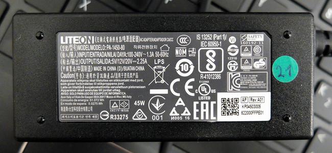 Acer Spin siete Cargador