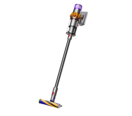 Aspirador escoba - Dyson V15 Detect Absolute, 660 W, Autonomía 60 min, 0.76 l, Tecnología laser, Níquel