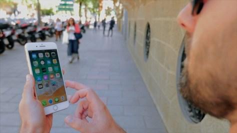iPhone 8 Plus exteriores pantalla