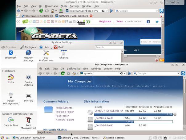 Foto de Centos 7 KDE (1/5)
