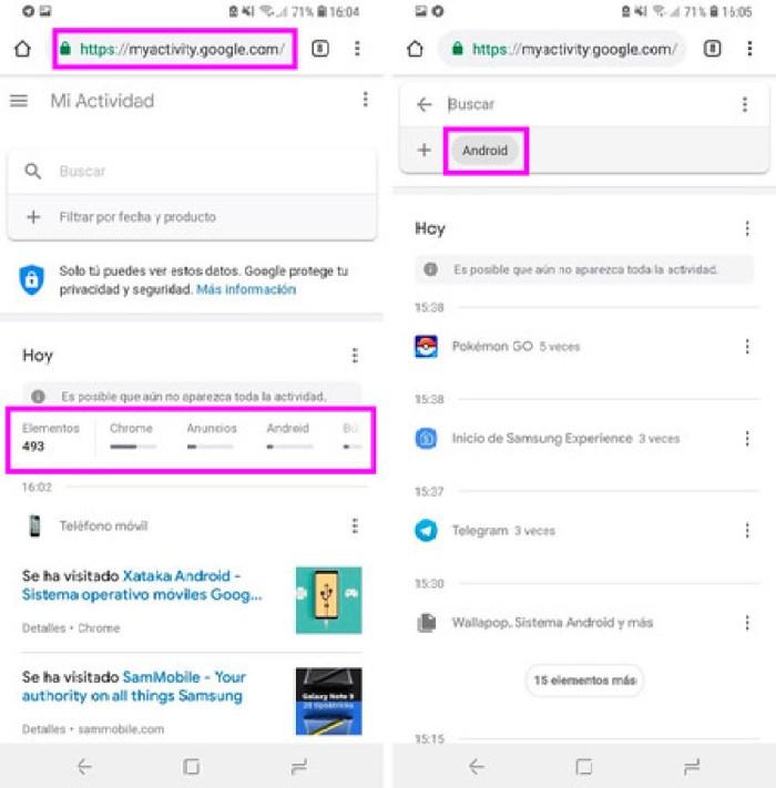 Borrar Historial Google