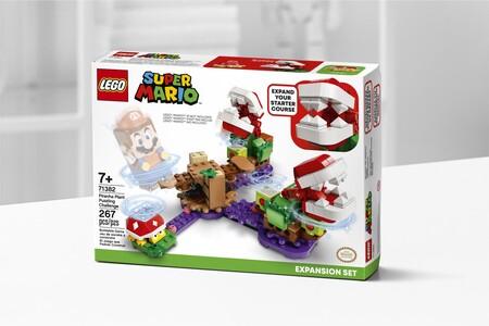 Planta piraña en LEGO Super Mario
