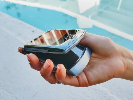 Motorola Razr 5g Plegando