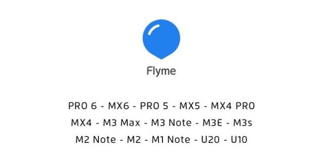 Flyme OS seis artefactos compatibles