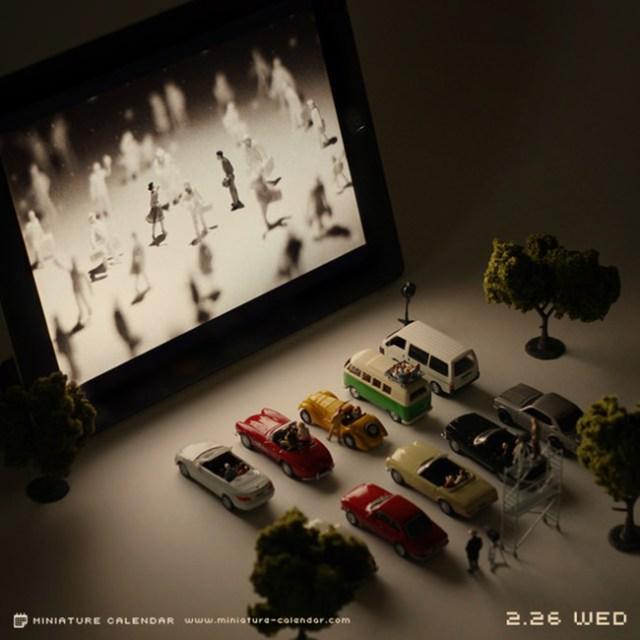 Miniature Calendar Tatsuya Tanaka 6