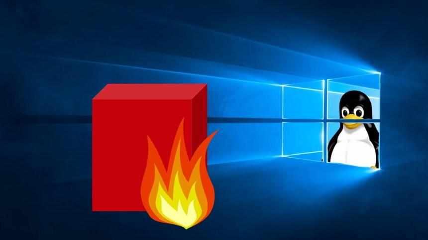 Descubren que el tráfico de Internet en WSL2 sortea las reglas del cortafuegos de Windows 10