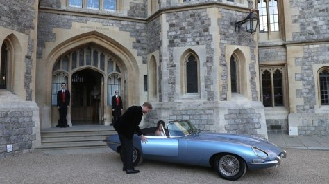 Jaguar E-Type Zero Concept Harry y Meghan