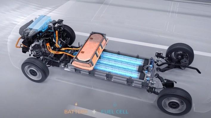 Coches híbridos de hidrógeno: la solución de fabricantes como Stellantis o Mercedes para obtener la autonomía del hidrógeno y el rendimiento de los eléctricos