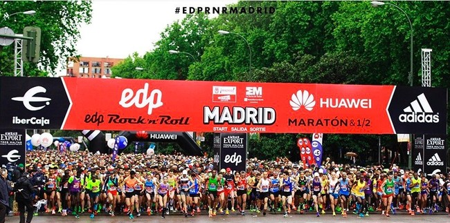 Media Maraton Madrid