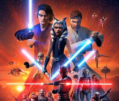 cuando se estrenan los episodios de Clone Wars en México por Disney+