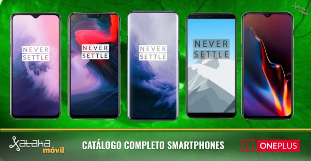 Así encajan el OnePlus℗ 7 y 7 Pro en el inventario de móviles OnePlus℗ en 2019