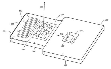 Patente Apple Cables Luces