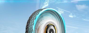 De metal, sin aire o esféricos: diez prototipos de neumáticos que prometen solucionar los pinchazos en los coches del futuro