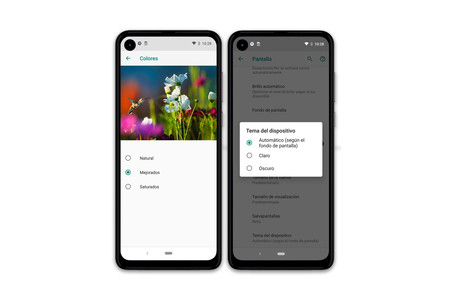 Motorola One Action Ajustes Pantalla