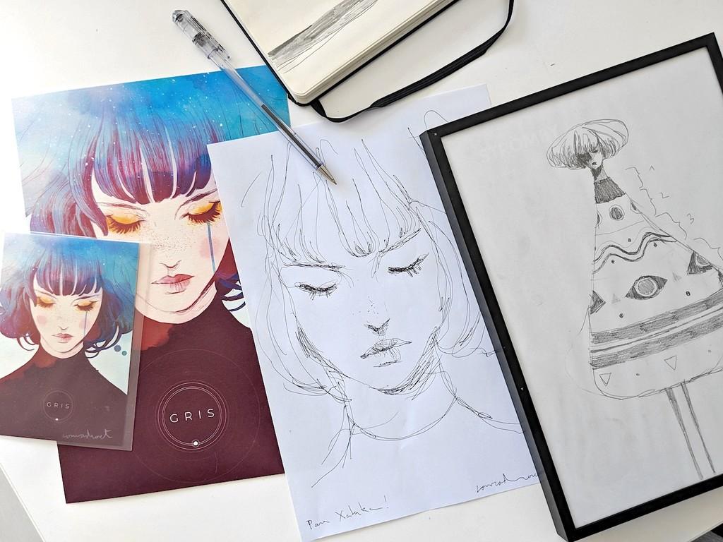 Permalink to 'GRIS': así se han transformado los dibujos de este artista español en uno de los videojuegos más bonitos del año