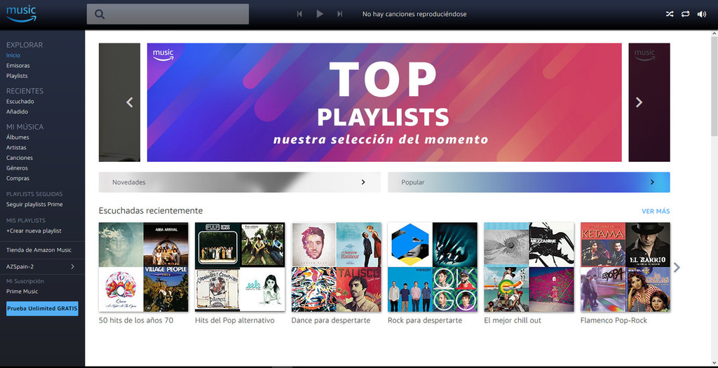 Amazon ya tiene listo un nuevo servicio gratuito de streaming(transmisión) musical inspirado en avisos al estilo Spotify, segun Billboard
