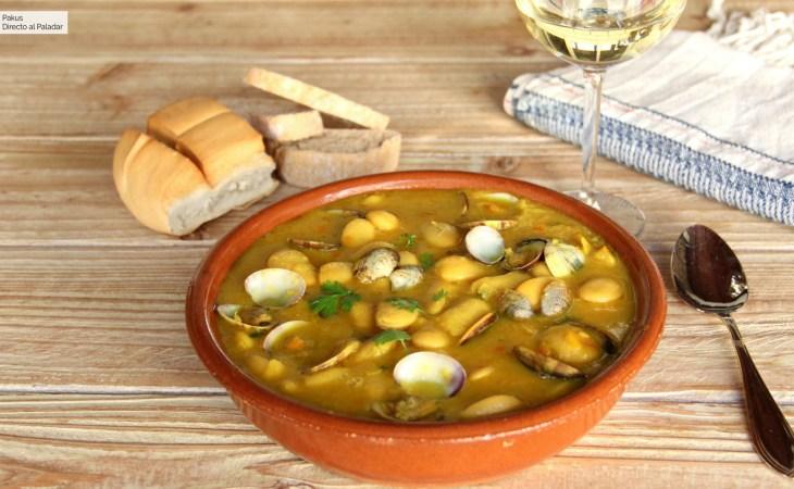 La mejor receta de fabes con almejas, el gran plato asturiano de ...