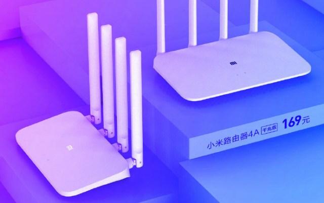 Xiaomi revela dos nuevos routers con WiFi Dual Band: Mi Router 4A y 4A Gigabit Edition
