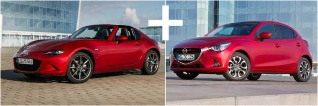 Mazda MX-5 RF + Mazda2