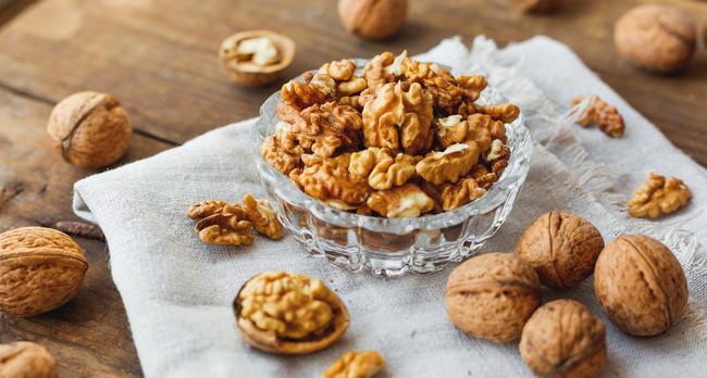 Nueces: contienen compuestos protectores del cerebro