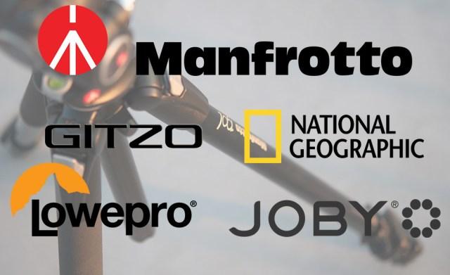 Manfrotto Lowepro Joby Gitzo Nationalgeographic