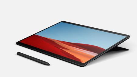 Surface Pro X: un dos en uno más fino, ligero y con procesador Microsoft SQ1 con arquitectura ARM