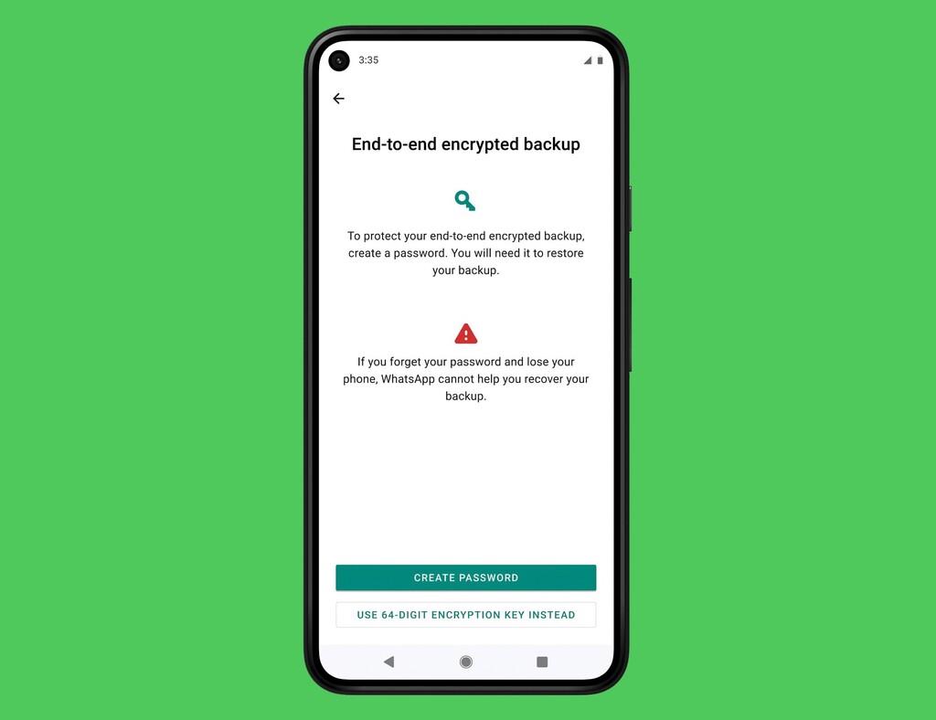 WhatsApp permitirá por fin cifrar las copias de seguridad que hagamos en Google Drive e iCloud: así va a aumentar la seguridad
