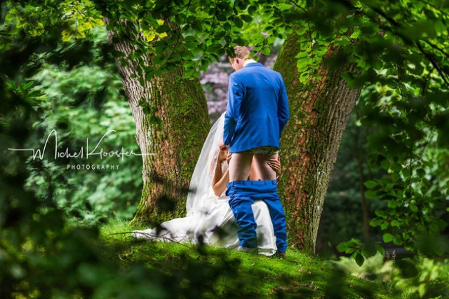 Michel Klooster Couple Wedding Having Sex