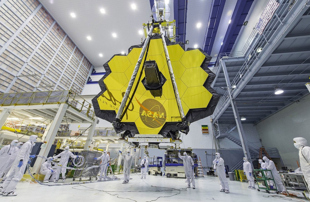 Los próximos telescopios espaciales serán tan grandes que están estudiando maneras de montarlos en el espacio