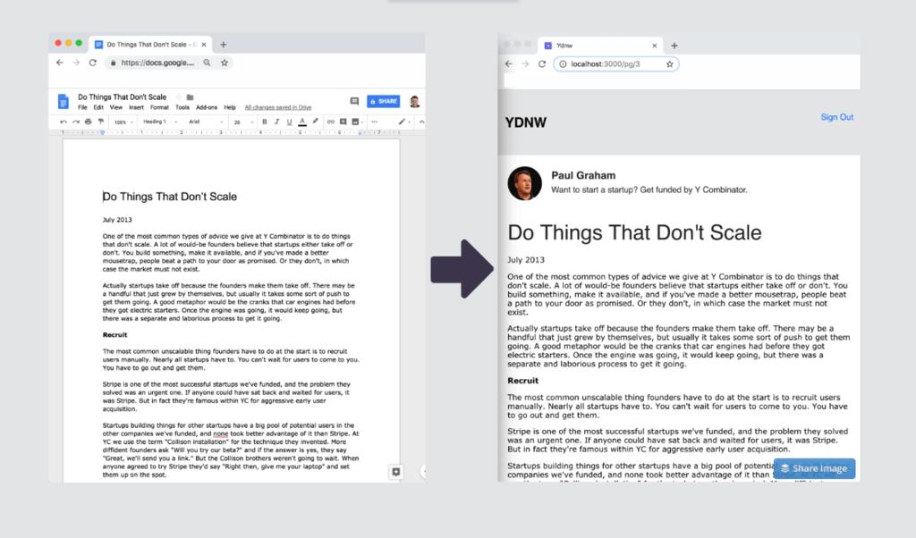 'You Don't Need WordPress', o como inventar un blogger empleando solo Google® Docs