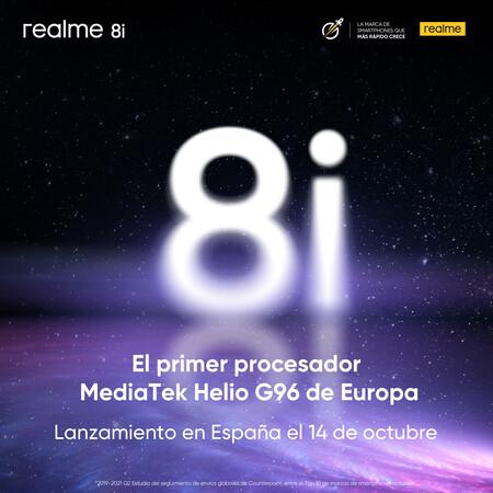 Presentacion Realme 8i