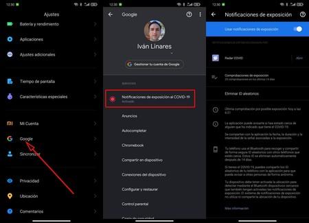 Daten App Coronavirus Google