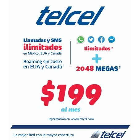 Telcel 199 Plan Mexico Details