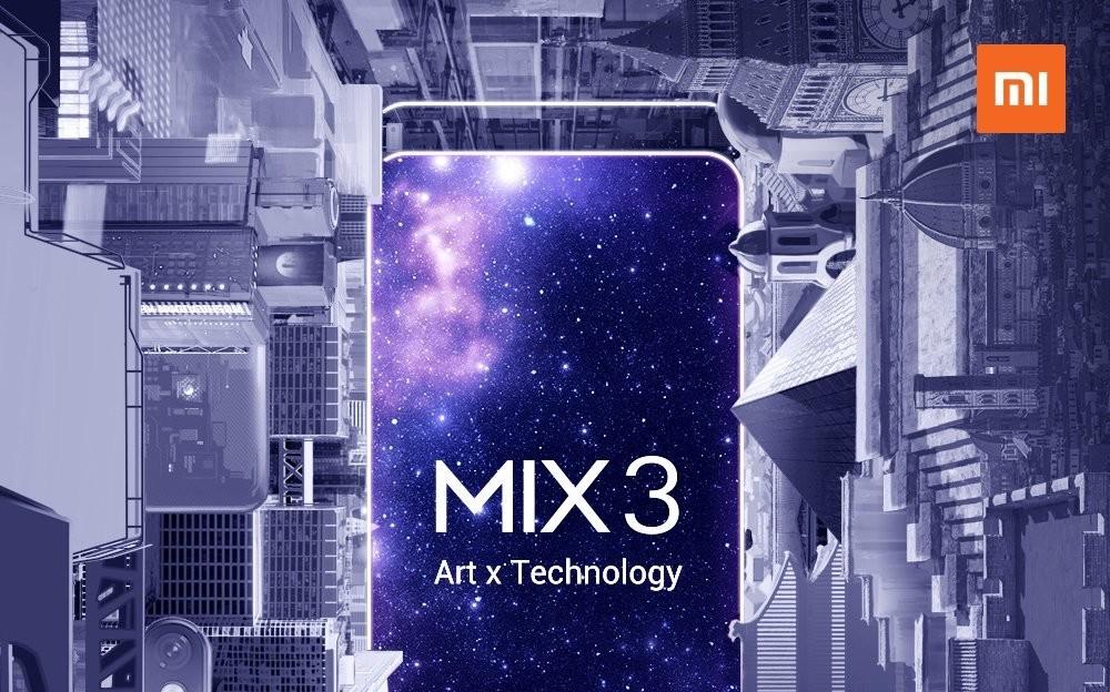 El Xiaomi Mi Mix tres será una bestia con diez GB en RAM: lo conoceremos el siguiente 25 de octubre