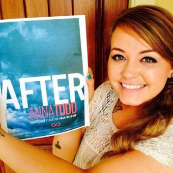 Anna Tood, una de las participantes del programa de Wattpad Stars con el que vendió sus derechos a Paramount